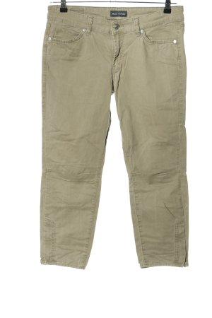 Marc O'Polo Spodnie z pięcioma kieszeniami khaki W stylu casual