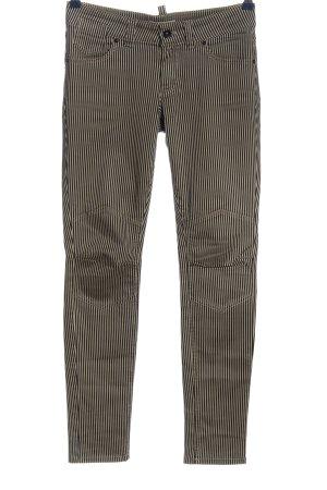 Marc O'Polo Spodnie z pięcioma kieszeniami w kolorze białej wełny-czarny