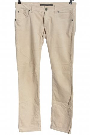 Marc O'Polo Pantalon cinq poches crème style décontracté