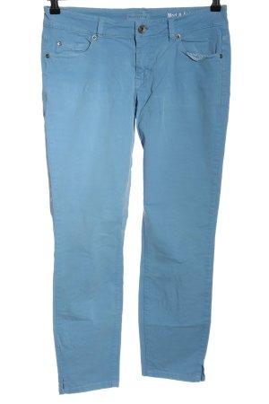 Marc O'Polo Five-Pocket Trousers azure-cornflower blue mixture fibre