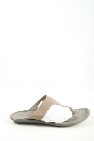 Marc O'Polo Flip Flop Sandalen creme Casual-Look