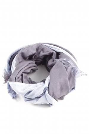 Marc O'Polo Fringed Scarf lilac-light grey casual look
