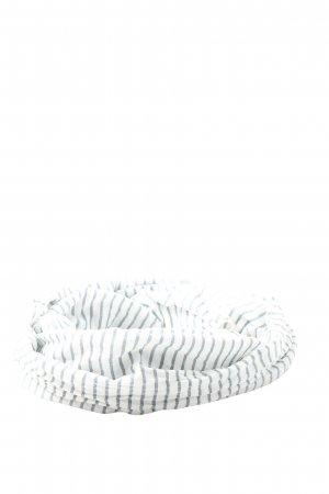 Marc O'Polo Fringed Scarf white-light grey striped pattern casual look