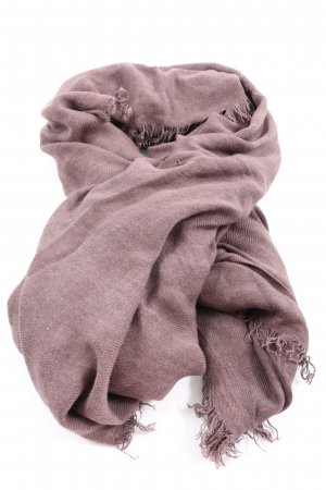 Marc O'Polo Fringed Scarf pink casual look