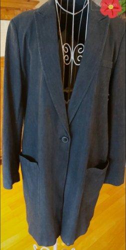 Marc O'Polo Geklede jas donkerblauw