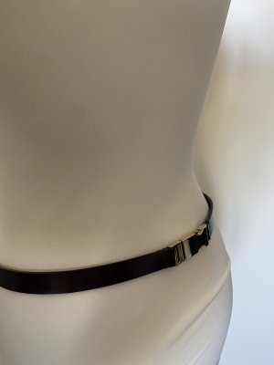 Marc O'Polo Leather Belt bordeaux-black