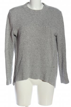 Marc O'Polo Crochet Sweater light grey casual look