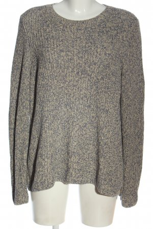 Marc O'Polo Crochet Sweater cream-blue flecked casual look