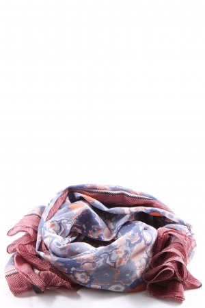 Marc O'Polo Halsdoek abstract patroon casual uitstraling
