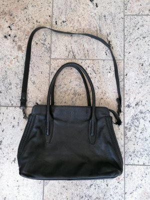 Marc O´Polo Handtasche Umhängetasche Echtleder schwarz