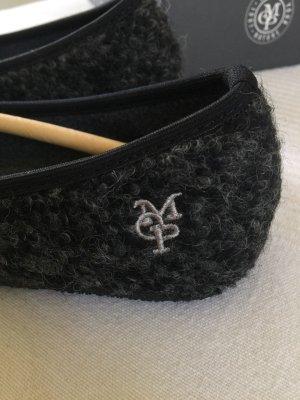 Marc O'Polo Pantoufles-chaussette gris anthracite