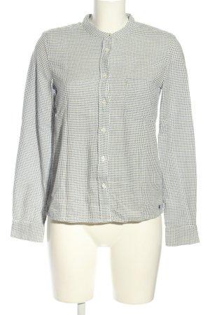Marc O'Polo Hemd-Bluse schwarz-weiß Karomuster Casual-Look