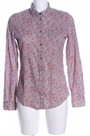Marc O'Polo Hemd-Bluse Blumenmuster Business-Look