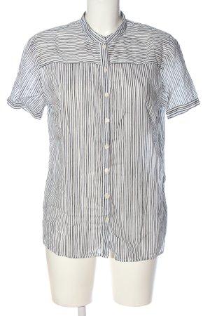 Marc O'Polo Hemd-Bluse schwarz-weiß Streifenmuster Casual-Look