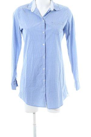 Marc O'Polo Hemd-Bluse blau-weiß Streifenmuster Business-Look