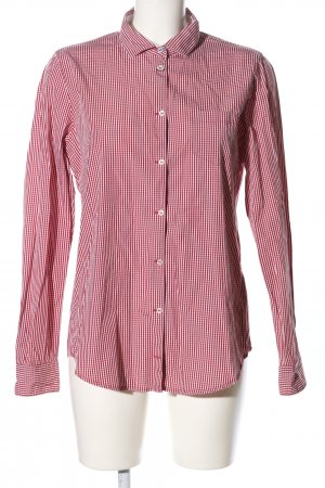 Marc O'Polo Hemd-Bluse pink-weiß Allover-Druck Casual-Look