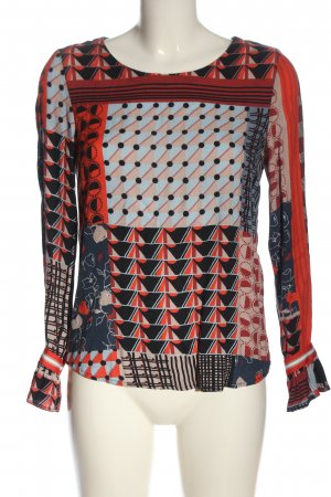 Marc O'Polo Blusa-camisa Mezcla de patrones look casual