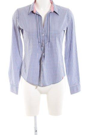 Marc O'Polo Hemd-Bluse blau-pink Karomuster Casual-Look