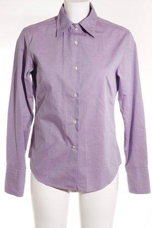 Marc O'Polo Hemd-Bluse blasslila Business-Look