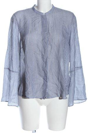Marc O'Polo Shirt Blouse blue-white allover print casual look