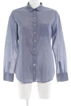 Marc O'Polo Hemd-Bluse blau Punktemuster Elegant
