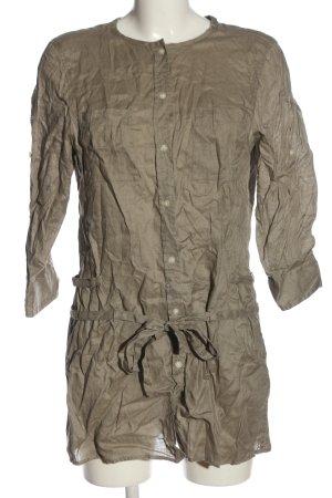 Marc O'Polo Hemd-Bluse braun Casual-Look