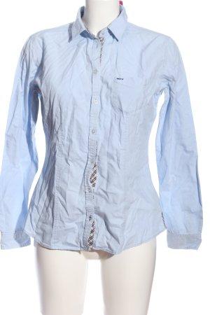 Marc O'Polo Hemd-Bluse blau Casual-Look