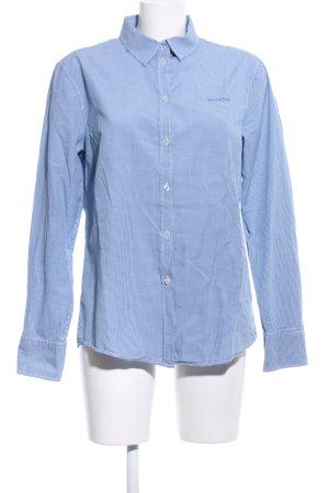 Marc O'Polo Hemd-Bluse blau Karomuster Business-Look