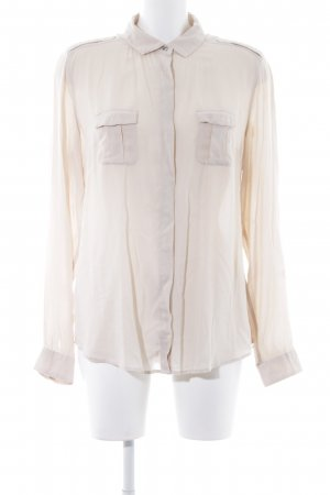 Marc O'Polo Hemd-Bluse hellbeige Business-Look