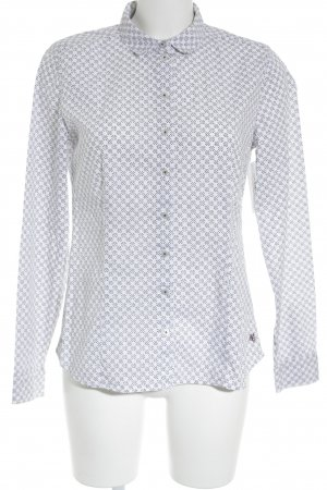 Marc O'Polo Hemd-Bluse Punktemuster Casual-Look