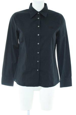 Marc O'Polo Hemd-Bluse schwarz Business-Look