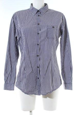 Marc O'Polo Hemd-Bluse schwarz-weiß Karomuster Business-Look