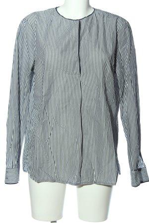 Marc O'Polo Hemd-Bluse weiß-schwarz Streifenmuster Business-Look
