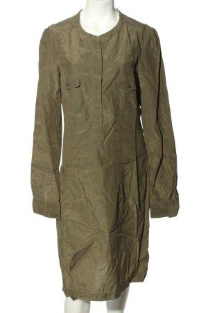 Marc O'Polo Hemdblusenkleid khaki schlichter Stil