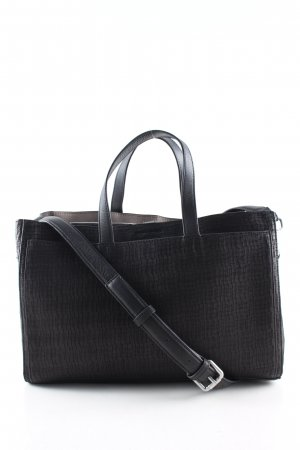 Marc O'Polo Henkeltasche schwarz Business-Look