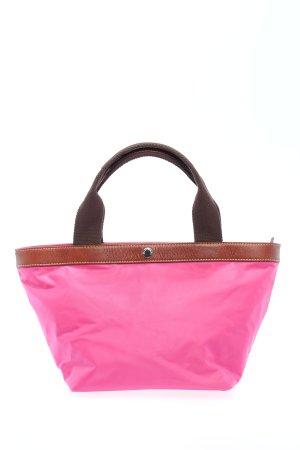 Marc O'Polo Henkeltasche pink-braun Casual-Look