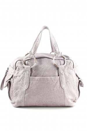 Marc O'Polo Henkeltasche hellgrau Allover-Druck Casual-Look