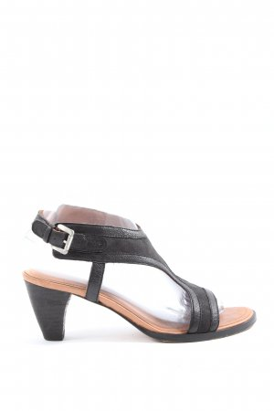 Marc O'Polo High Heel Sandaletten schwarz Casual-Look
