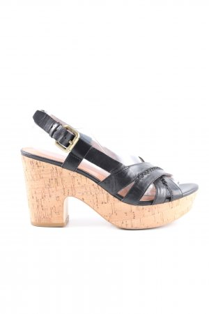 Marc O'Polo High Heel Sandaletten schwarz-nude Casual-Look