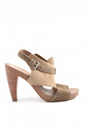Marc O'Polo High Heel Sandaletten bronzefarben Casual-Look