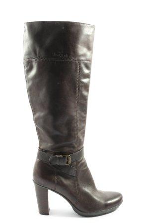 Marc O'Polo Wysokie buty na obcasie brązowy W stylu casual