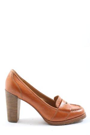 Marc O'Polo High Heels light orange casual look