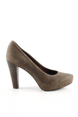 Marc O'Polo High Heels braun Elegant