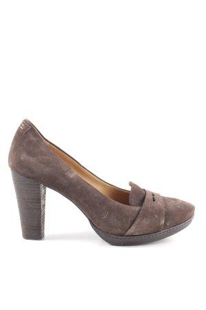 Marc O'Polo High Heels braun Casual-Look