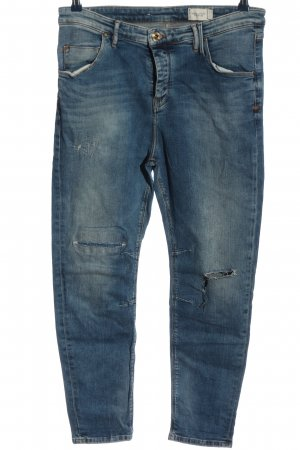 Marc O'Polo Hoge taille jeans blauw casual uitstraling