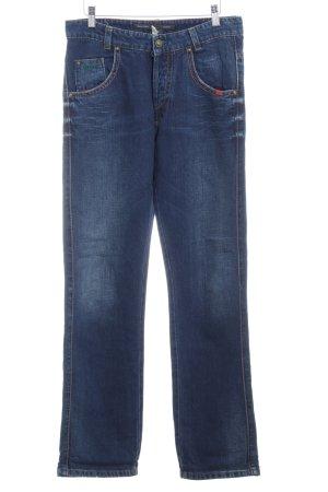 Marc O'Polo High Waist Jeans dunkelblau Casual-Look