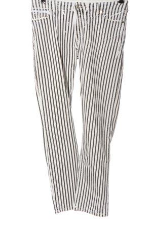 Marc O'Polo High Waist Jeans white-light grey allover print casual look