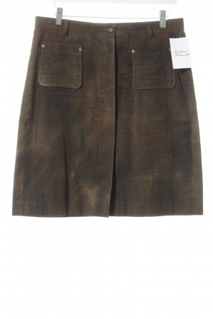Marc O'Polo High Waist Rock khaki Casual-Look
