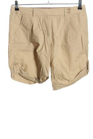 Marc O'Polo High-Waist-Shorts wollweiß Casual-Look