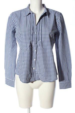 Marc O'Polo Camisa de leñador azul-blanco estilo «business»